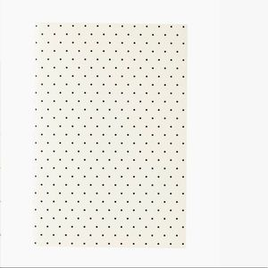 Kate Spade Notebook Dots White Black Journal NWT
